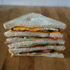 Recept: club sandwich