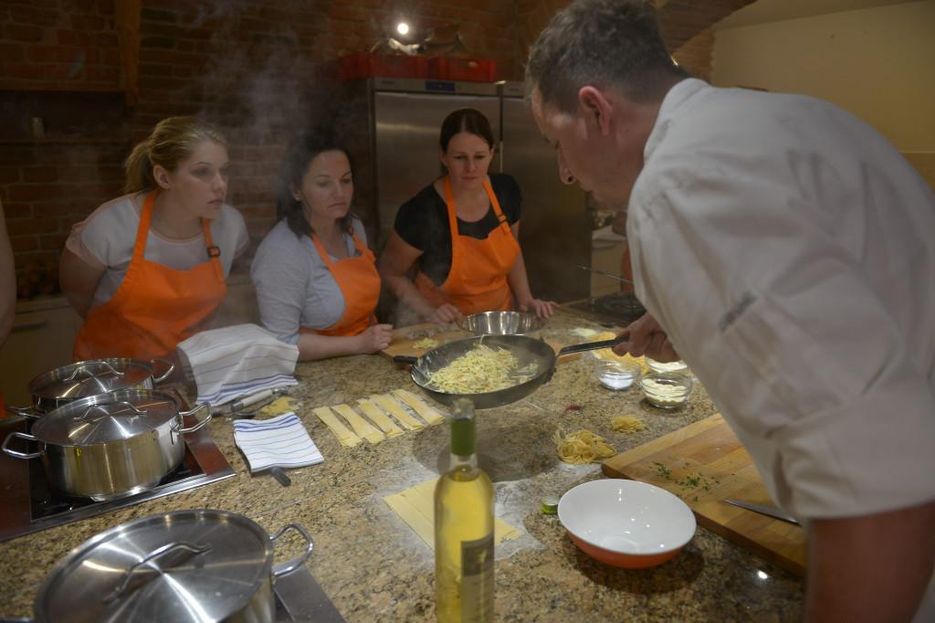 Kurz Domácí těstoviny - Studio Divoká vařečka